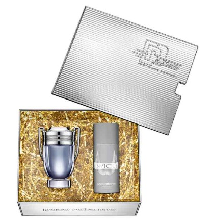 PACO RABANNE INVICTUS EDT 100 ML + DEO VAPO 150 ML SET REGALO