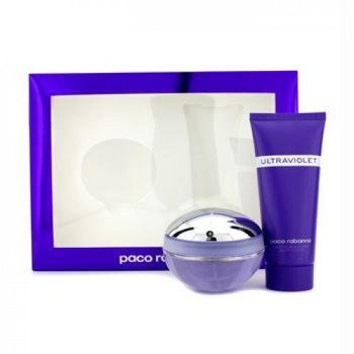 PACO RABANNE ULTRAVIOLET EDP 80 ML + B/L 100 ML SET REGALO