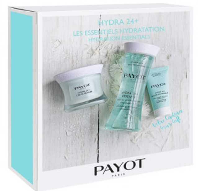 PAYOT HYDRA 24+ CREME GLACEE 50ML+ESSENCE 125ML+BAUME EN MASQUE 15ML SET REGALO
