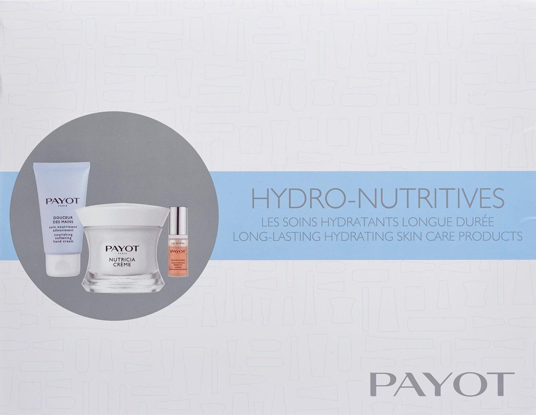 PAYOT HYDRO NUTRICIA CREMA 50 ML + PAYOT CREMA MANOS 50 ML + PAYOT ELIXIR D´EAU 5 ML SET REGALO