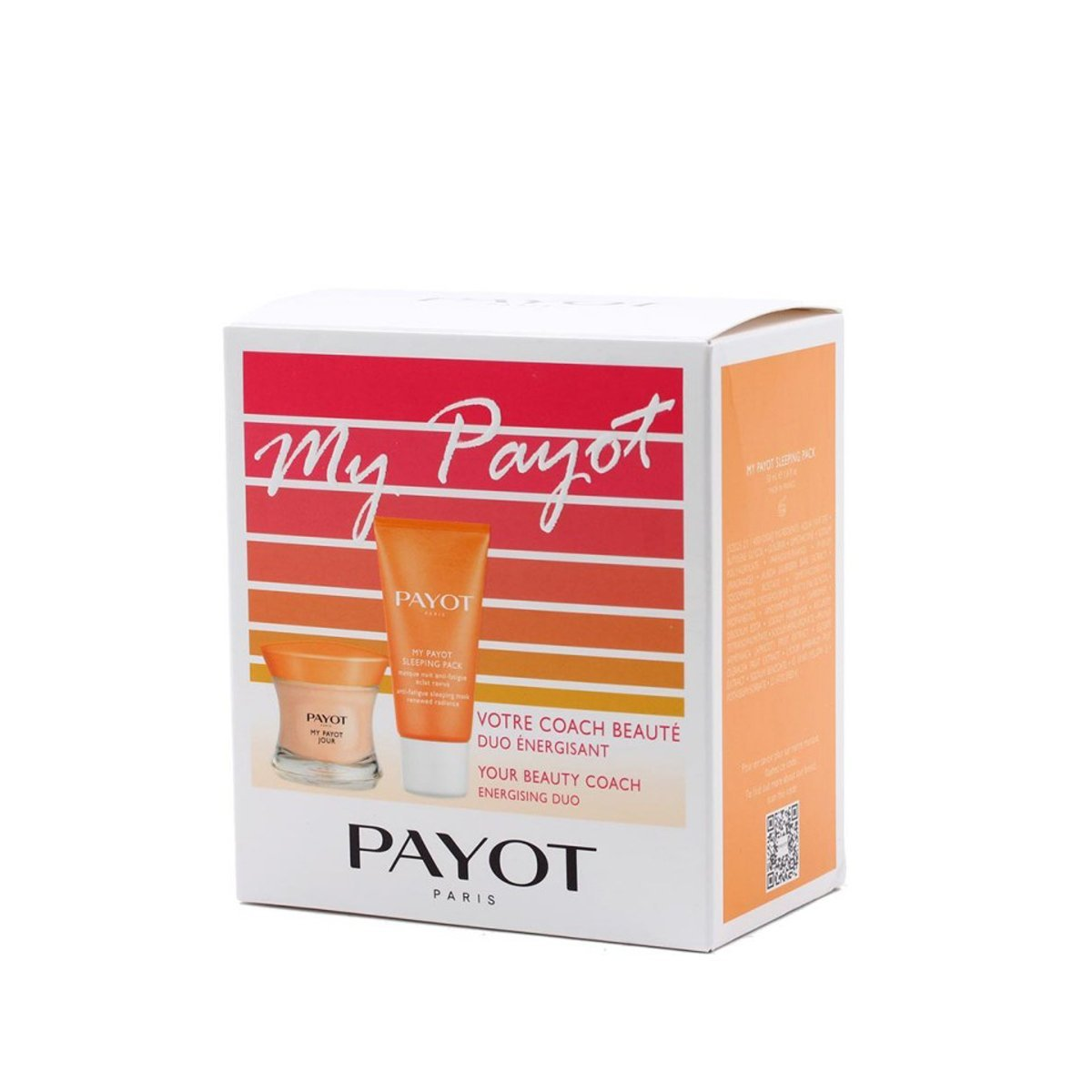 PAYOT MY PAYOT CREMA DÍA 50 ML + MASCARILLA NOCHE ANTI FATIGA 50 ML SET