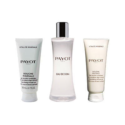 PAYOT VITALITE MINERAL (EAU DE SOIN 100 ML + GEL 25 ML + EXFOLIANTE 25 ML) SET REGALO