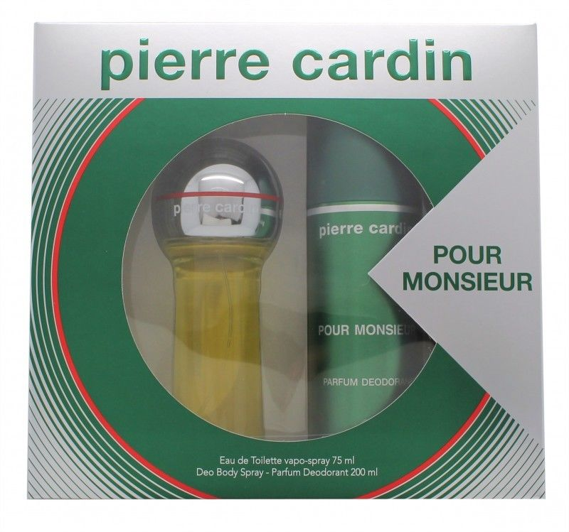 PIERRE CARDIN POUR MONSIEUR EDT 75 ML+DEO SPRAY 200 ML SET