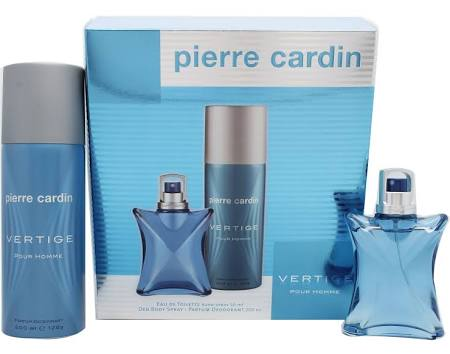 PIERRE CARDIN POUR HOMME VERTIGE EDT 50ML + DEO SPRAY 200ML SET