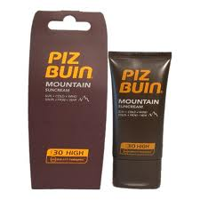 piz buin mountain sun cream spf 30 40 ml. Black Bedroom Furniture Sets. Home Design Ideas