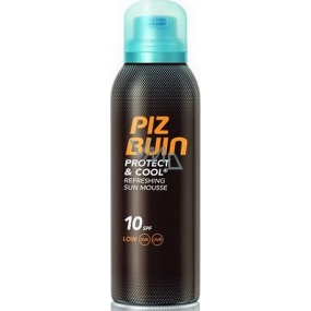 PIZ BUIN PROTECT AND COOL SUN MOUSSE SPF 10 150 ML