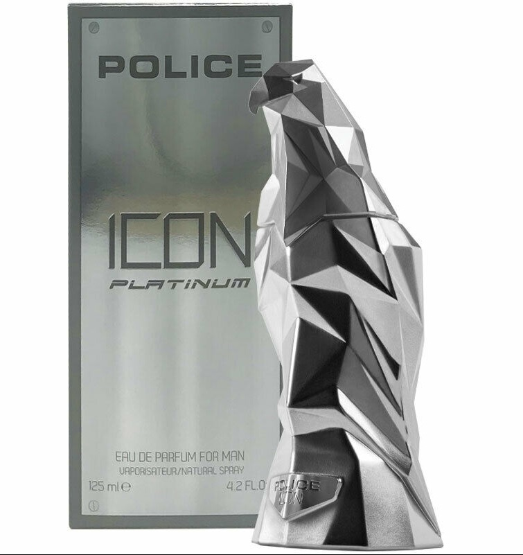 POLICE ICON PLATINUM EDP 125 ML