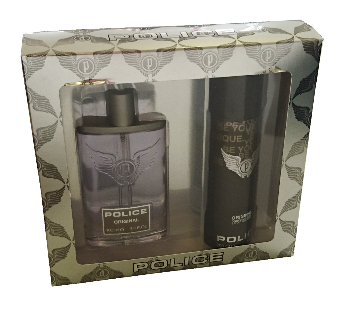 POLICE ORIGINAL EDT 100 ML + DEO 200 ML SET REGALO