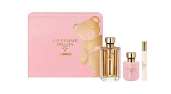 PRADA LA FEMME L´EAU EDT 100 ML + EDT 10ML + BODY LOTION 100ML