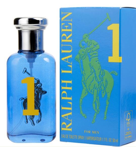 RALPH LAUREN BIG PONY 1 BLUE EDT 50 ML VP.