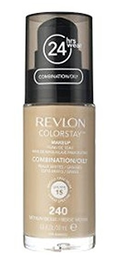REVLON COLORSTAY BASE DE MAQUILLAJE PARA ROSTRO OILY MEDIUM BEIG 240