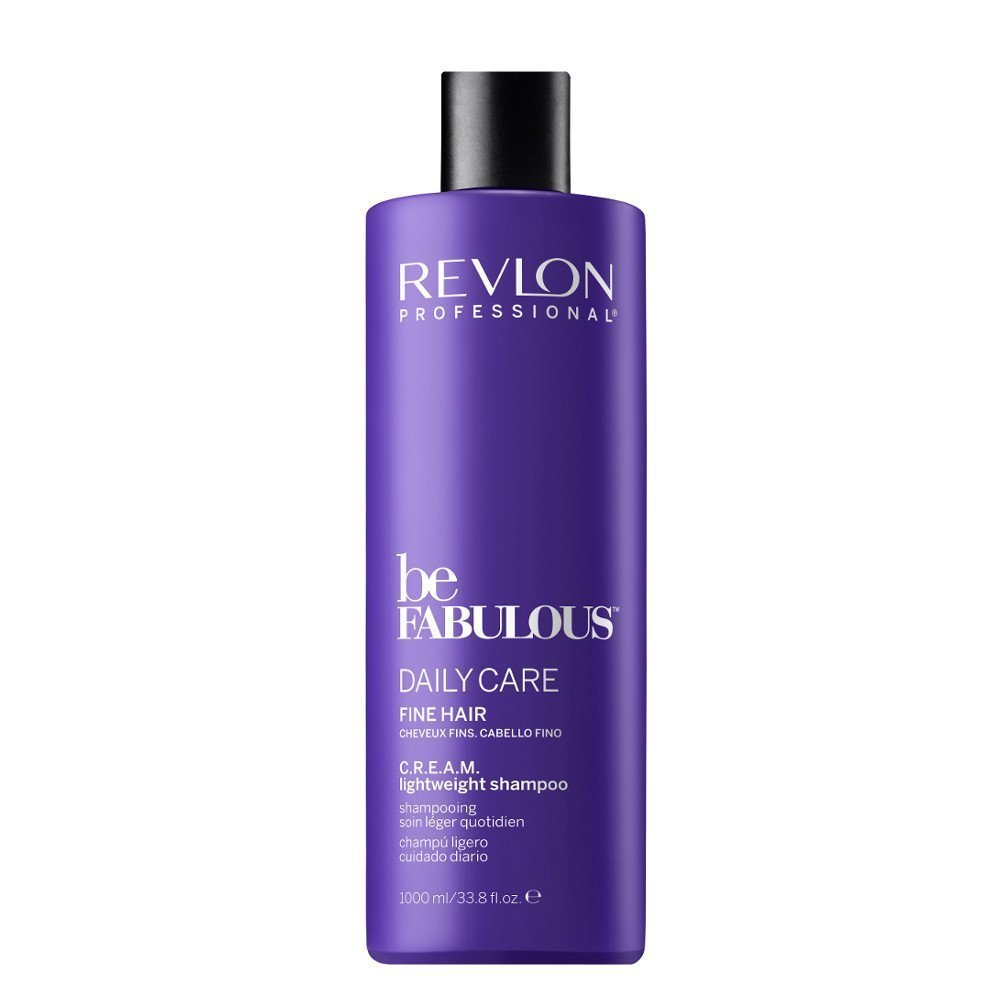 REVLON BE FABULOUS DAILY CARE FINE HAIR CREAM SHAMPOO 1000 ML
