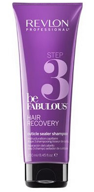 REVLON BE FABULOUS HAIR RECOVERY STEP 3 SHAMPOO 250 ML