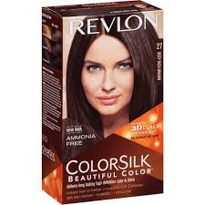 REVLON TINTE COLORSILK 27 DEEP RICH BROWN