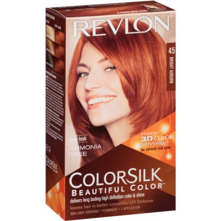 REVLON TINTE COLORSILK 45 BRIGHT AUBURN