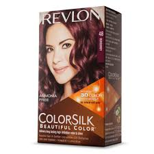 REVLON TINTE COLORSILK 48 BURGANDY