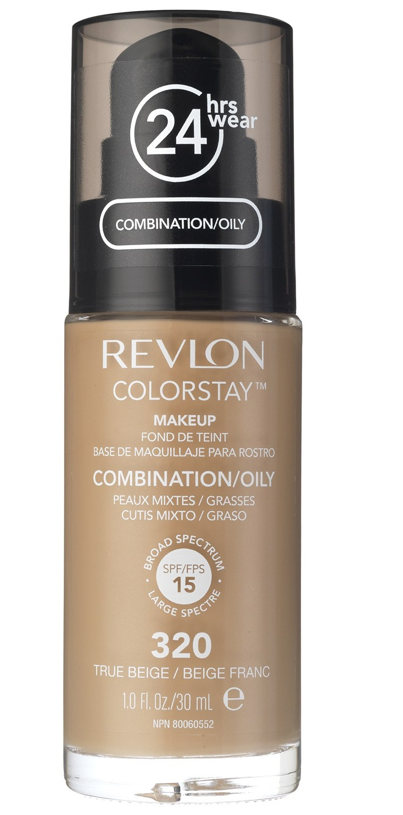 REVLON COLORSTAY OILY TRUE BEIG 320 FACE MAKEUP BASE