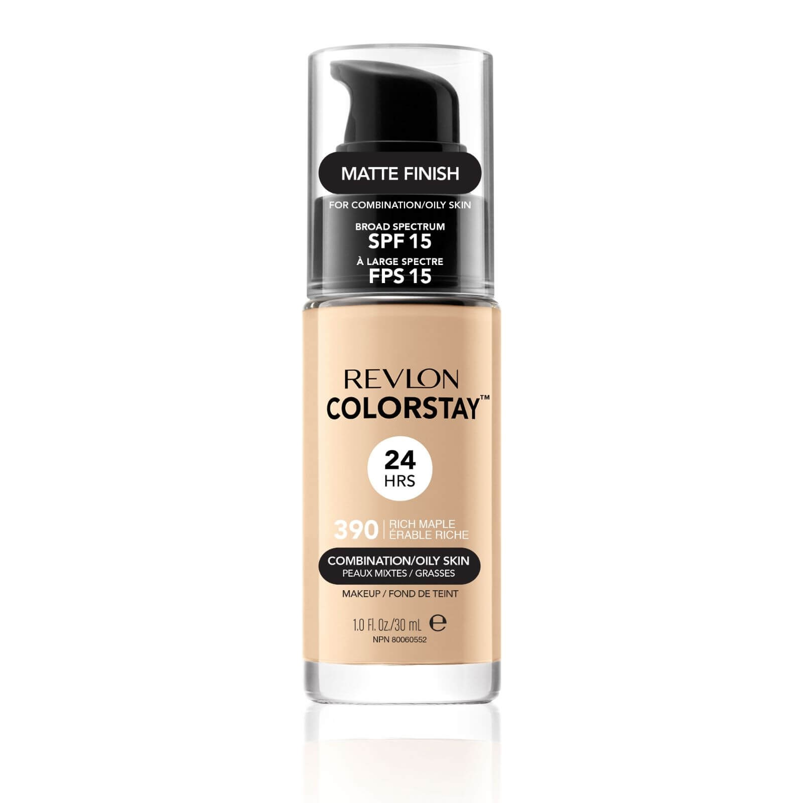 REVLON COLORSTAY BASE DE MAQUILLAJE PARA ROSTRO OILY RICH MARPLE 390 30 ML