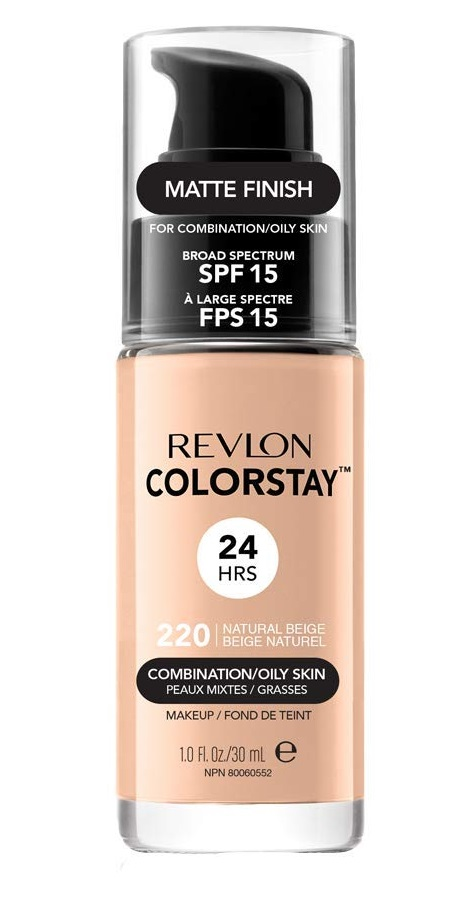 REVLON COLORSTAY BASE DE MAQUILLAJE PARA ROSTRO OILY NATURAL BEIG 220 25 ML