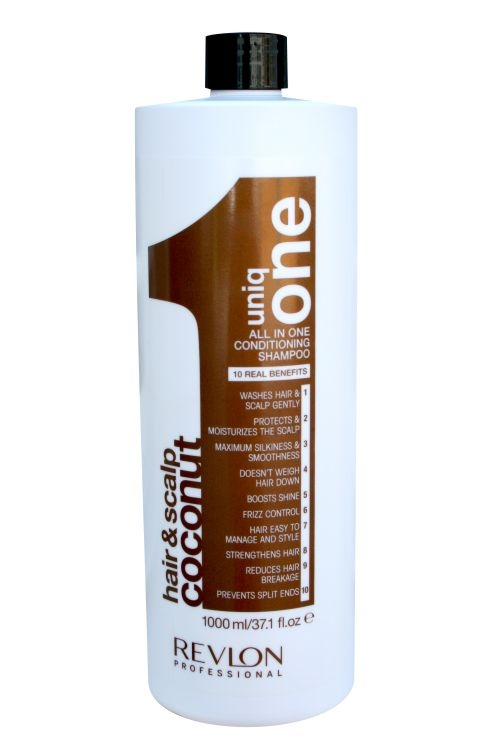 revlon uniq one 150 ml all in one hair treatment coconut. Black Bedroom Furniture Sets. Home Design Ideas