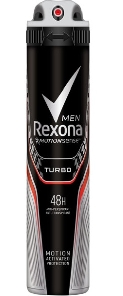 REXONA MEN TURBO DESODORANTE SPRAY 200ML