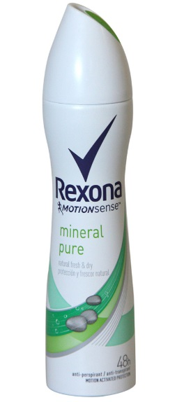 REXONA PURE NATURAL MINERAL DESODORANTE SPRAY 200ML