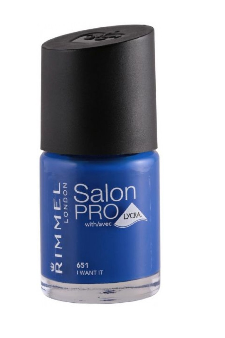 RIMMEL LONDON NAIL POLISH SALON PRO I WANT IT 651 12ML