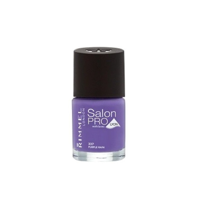 RIMMEL LONDON NAIL POLISH SALON PRO PURPLE RAIN 337 12ML