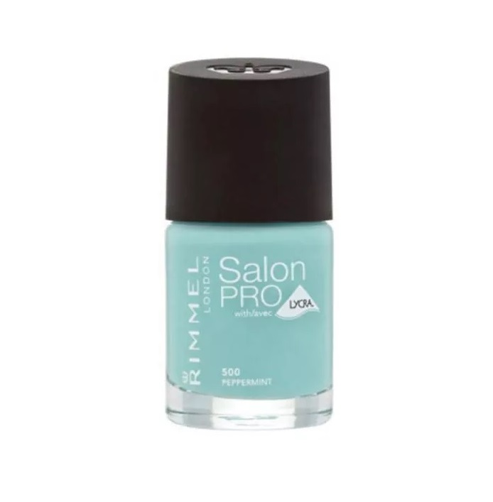 RIMMEL LONDON NAIL POLISH SALON PRO PEPPERMINT 500 12ML