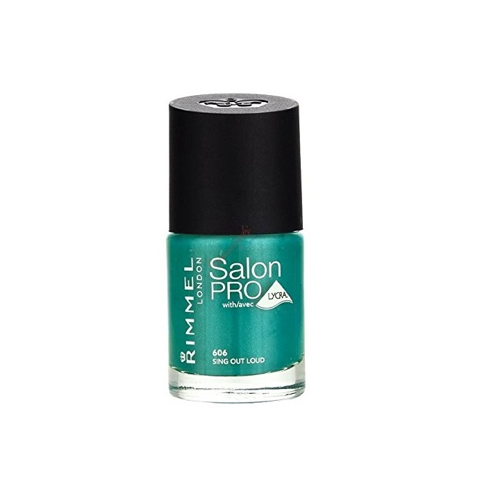 RIMMEL LONDON NAIL POLISH SALON PRO SING OUT LOUD 606 12ML