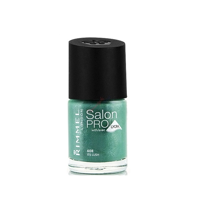 RIMMEL LONDON NAIL POLISH SALON PRO ITS LUSH 608 12ML