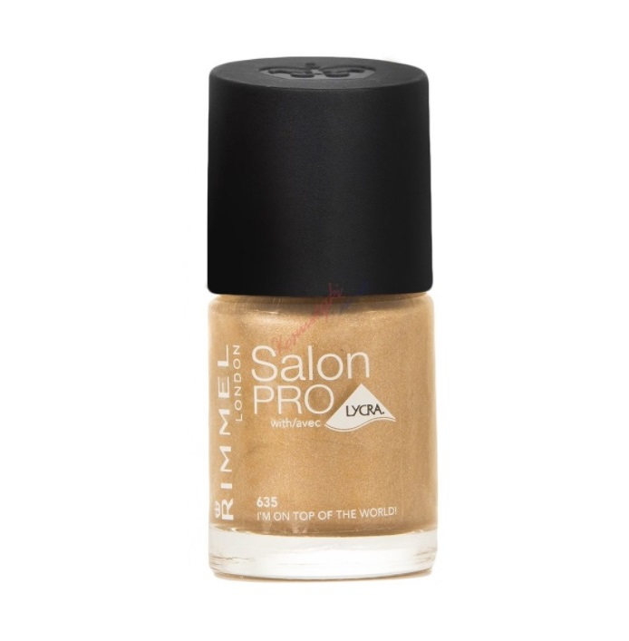 RIMMEL LONDON NAIL POLISH SALON PRO IM ON TOP OF THE WORLD 635 12ML
