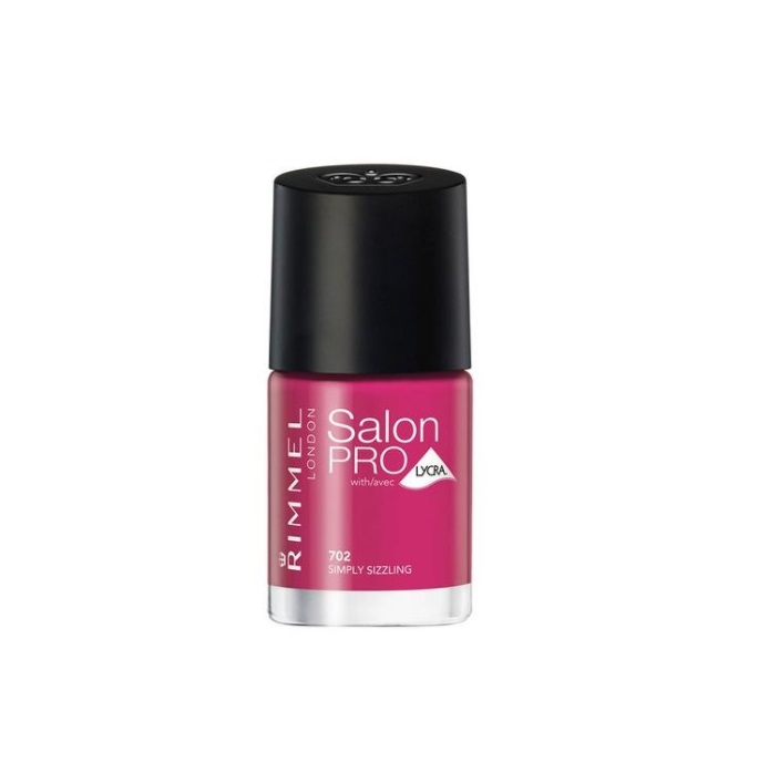 RIMMEL LONDON NAIL POLISH SALON PRO SIMPLY SIZZLING 702 12ML