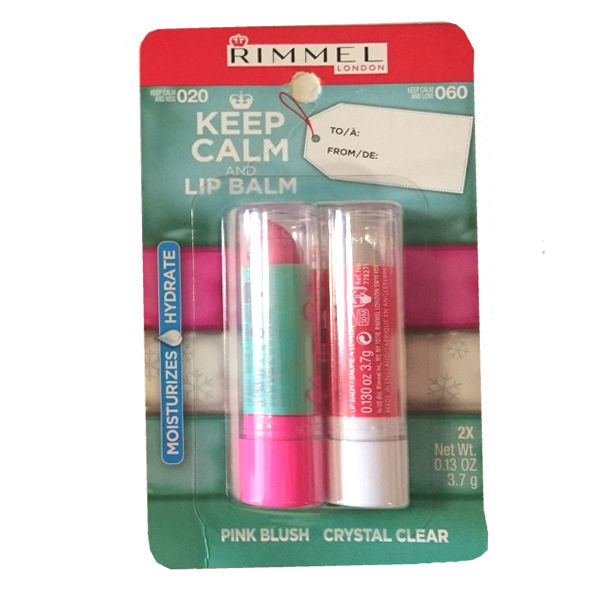 RIMMEL KEEP CALM AND LIPBALM DUO 020 PINK BLUSH