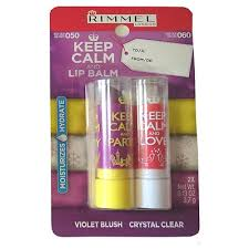 RIMMEL KEEP CALM AND LIPBALM DUO 050 VIOLET BLUSH