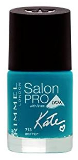 RIMMEL LONDON NAIL POLISH SALON PRO BRIT POP 713 12ML