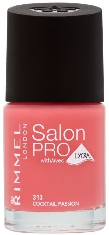 RIMMEL LONDON NAIL POLISH SALON PRO COCKTAIL PASSION 313 12ML **