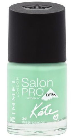 RIMMEL LONDON NAIL POLISH SALON PRO GREEN DRAGON 241 12ML