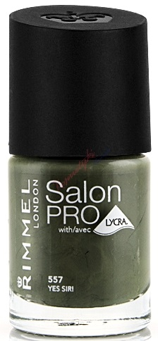 RIMMEL LONDON NAIL POLISH SALON PRO YES SIR 557 12ML