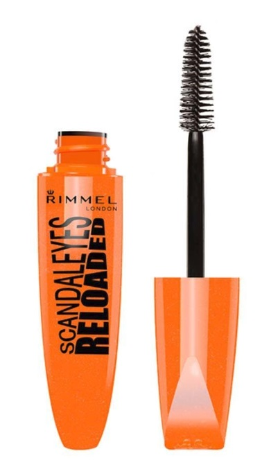 RIMMEL LONDON MASCARA SCANDALEYES VOLUME FLASH 001 NEGRO 12 ML