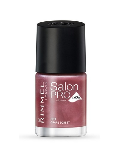 RIMMEL LONDON NAIL POLISH SALON PRO GRAPE SORBET 307 12 ML