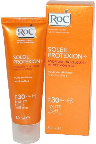 ROC SOLEIL PROTEXION + SPF 30 FLUIDO ANTIBRILLOS 50 ML
