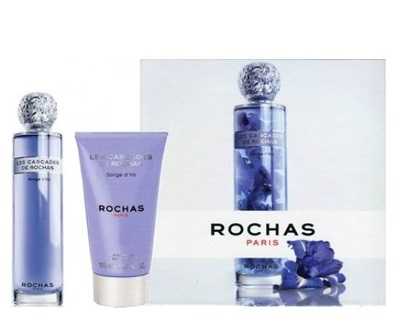 ROCHAS LES CASCADES SONGE D´IRIS EDT 100 ML + BODY LOTION 150 ML SET REGALO