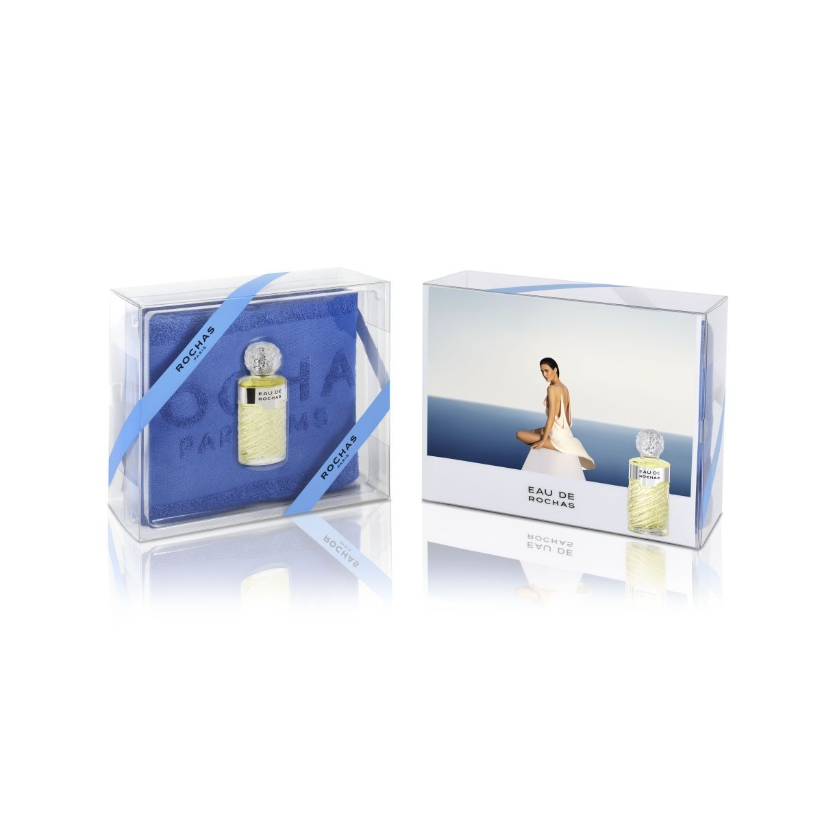 EAU DE ROCHAS EDT 100 ML + TOALLA SET REGALO