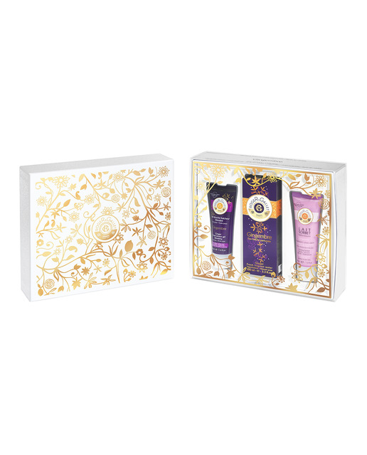 ROGER & GALLET GINGEMBRE EDC 100 ML+ BODY CREAM 50 ML + GEL 50 ML SET REGALO