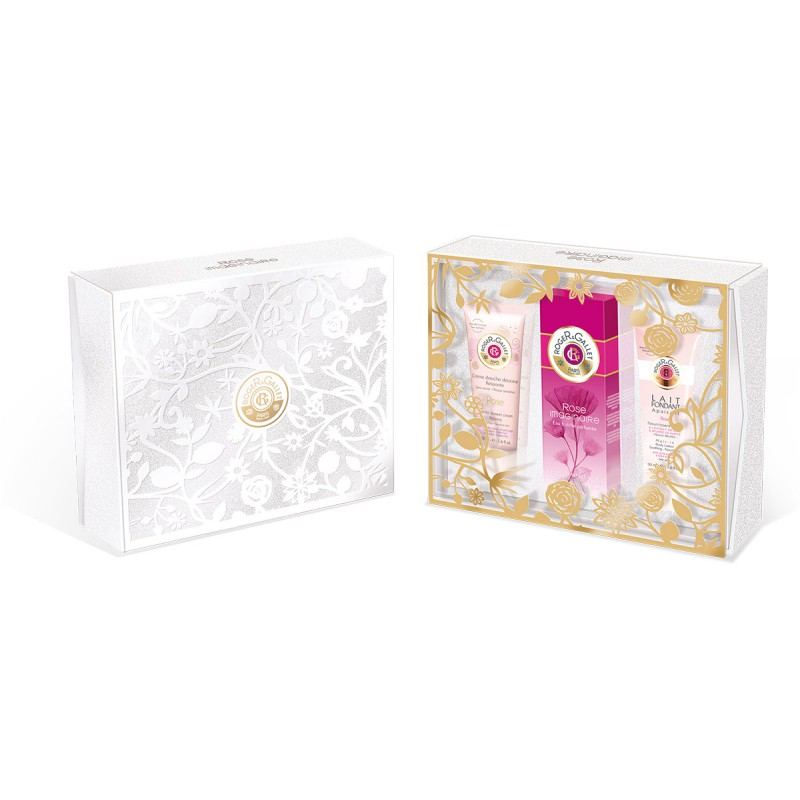 ROGER & GALLET ROSE IMAGINAIRE EDC 100 ML + B/L 50 ML + GEL 50 ML SET REGALO