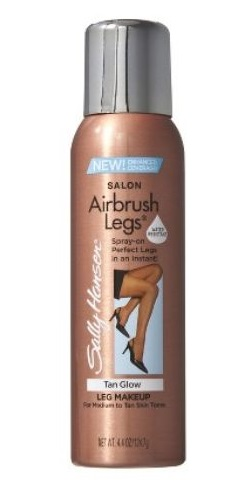SALLY HANSEN AIRBRUSH LEGS SPRAY CON COLOR PARA PIERNAS TAN GLOW 75 ML