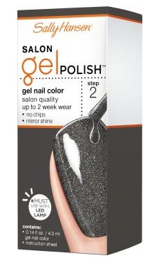 SALLY HANSEN SALON GEL POLISH GLISTEN UP 268 4.0ML