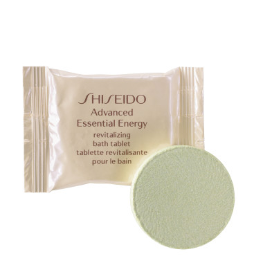 SHISEIDO ADVANCED ESSENTIAL REVITALIZING BATH TABLETS 10 UNITS