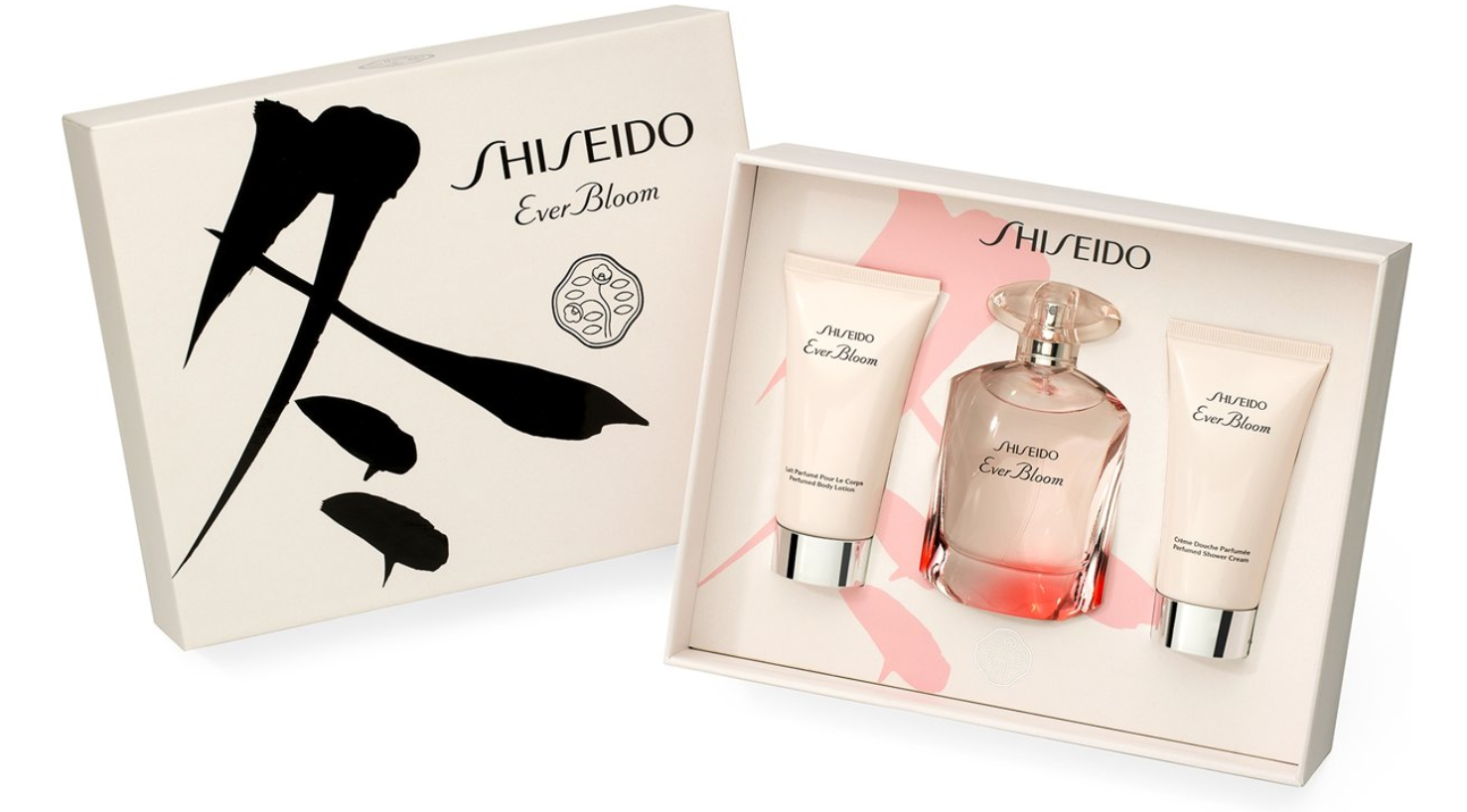SHISEIDO EVER BLOOM EDP 50 ML + B/L 50 ML + GEL 50 ML SET REGALO
